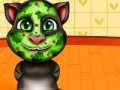 Game Talking Tom. Spa makeover. Spila á netinu